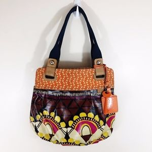 Fossil Key-Per Boho Shoulder Bag Purse